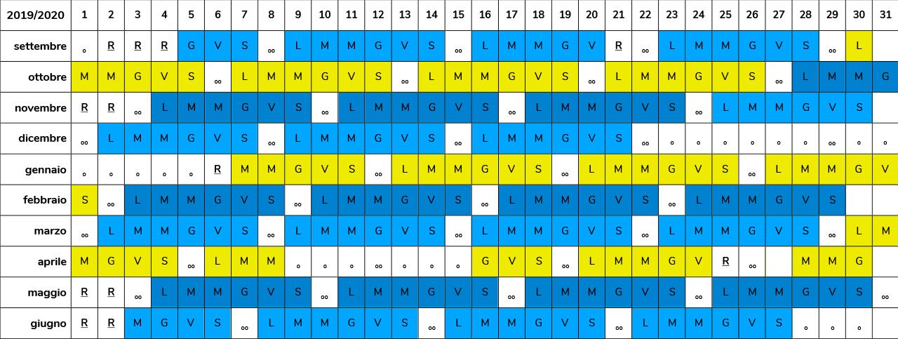 orari piscina idea blu pavia | Calendario 2019/2020